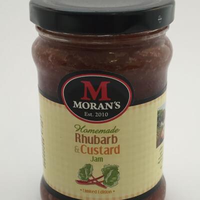 Moran's Rhubarb & Custard Jam