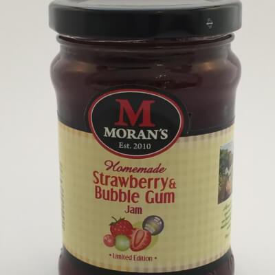 Moran's Strawberry & Bubblegum Jam