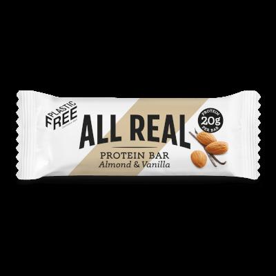All Real Sustainable Protein Bar - Almond & Vanilla