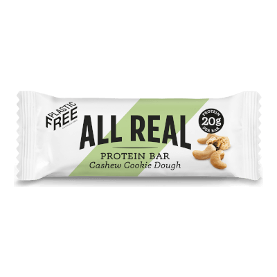 All Real Sustainable Protein Bar - Cashew Cookie Dough