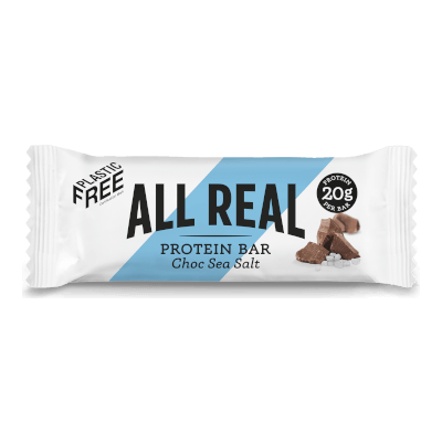 All Real Sustainable Protein Bar - Choc Sea Salt