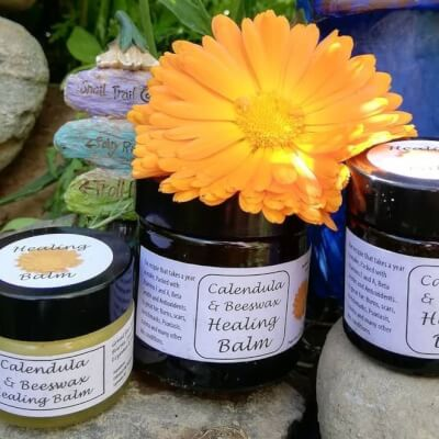 Healing Balm: Calendula And Beeswax