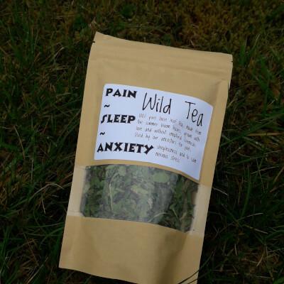 Wild Lettuce Tea Pain/Insomnia/Anxiety