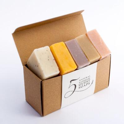 5 Half Bar Guest Soap Box