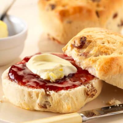 Individually Wrapped Gluten Free Fruit Scones (Pack Of 12)