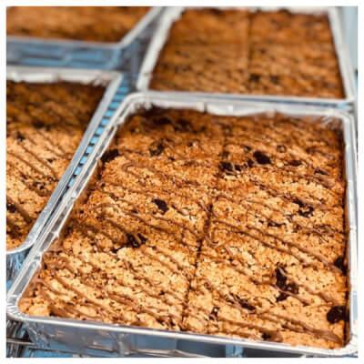 Delicious Gluten Free Flapjack Tray Bake