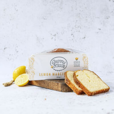 Gluten Free Granny Mac Lemon Madeira Cake