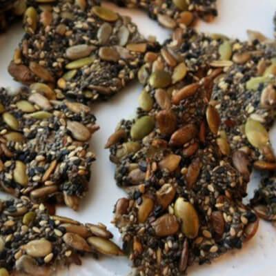 Keto Friendly Seeded Cracker Mix