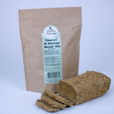 Delicious Gluten Free Linseed & Almond Bread Mix