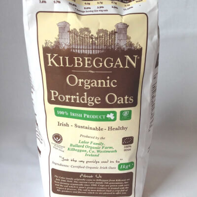 Kilbeggan Organic Porridge Oats 1Kg