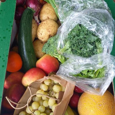 50/50 Organic Fruit & Veg Box