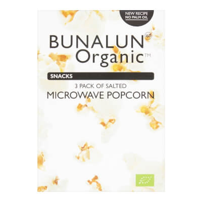 Bunalun Organic Popcorn (3 Pack)