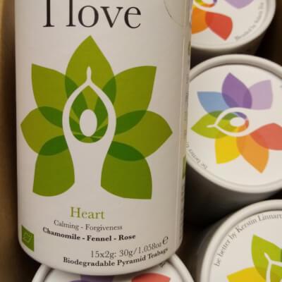 Solaris I Love Heart Chakra Tea Bags