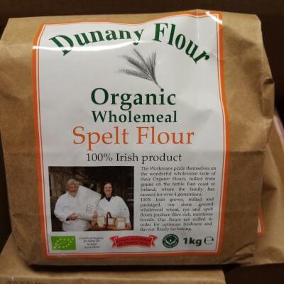 Dunany Organic Spelt Flour 1Kg