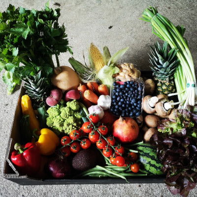 Organic Fruit & Veg Box €50
