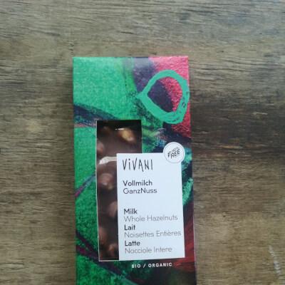 Organic Milk Chocolate With Hazelnut