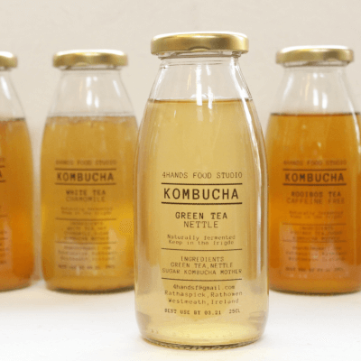 Green Tea And Nettle Kombucha