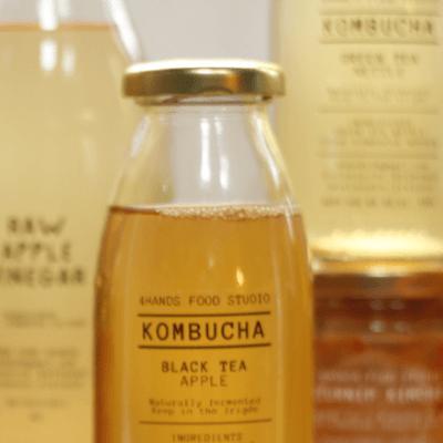 Black Tea & Bergamot Kombucha