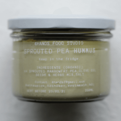 Weekly Sprouted Pea Hummus