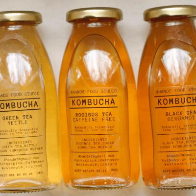Black Tea & Elderflower Kombucha