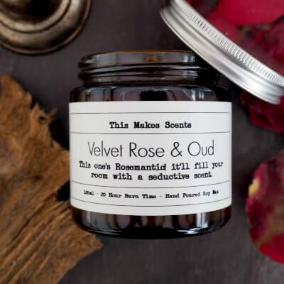 Velvet Rose & Oud 120Ml Candle