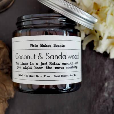Coconut & Sandalwood 120Ml Candle