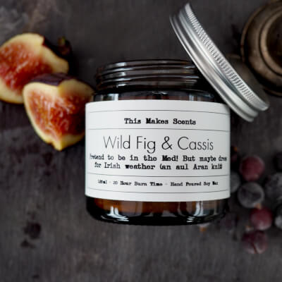 Wild Fig & Cassis 120Ml Candle