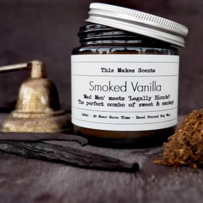 Smoked Vanilla 120Ml Candle