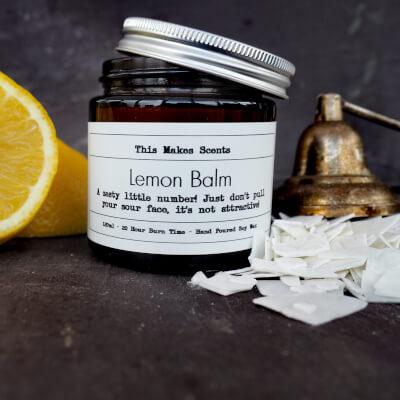 Lemon Balm 120Ml Candle