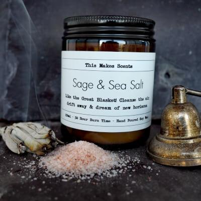 Sage & Sea Salt 250Ml Candle