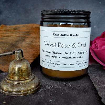 Velvet Rose & Oud 250Ml Candle