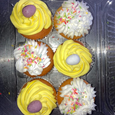 Gluten Free Easter Cupcakes