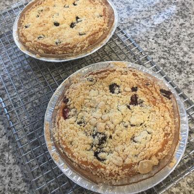 Gluten Free Raspberry Pie