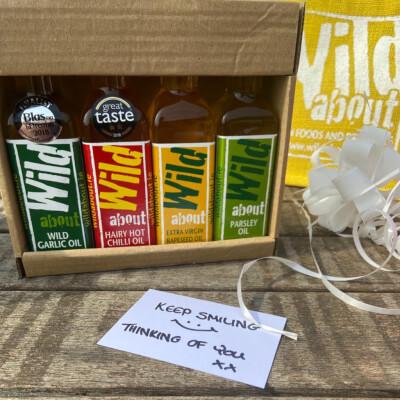 Giftbag -  4 Award Winning Infused Oils
