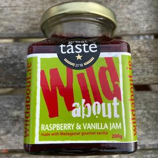 Wexford Raspberry & Madagascan Bourbon Vanilla Jam