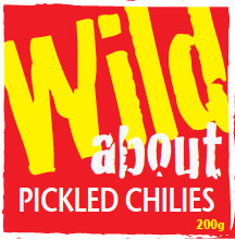 Pickled Bolivian Hairy Chillis