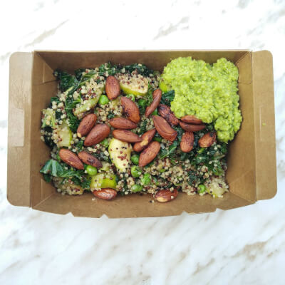 Nutty Green Quinoa Salad (Vg)(Gf)