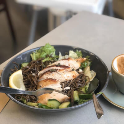 Sesame Soba Noodles With Chicken Breast Fillet