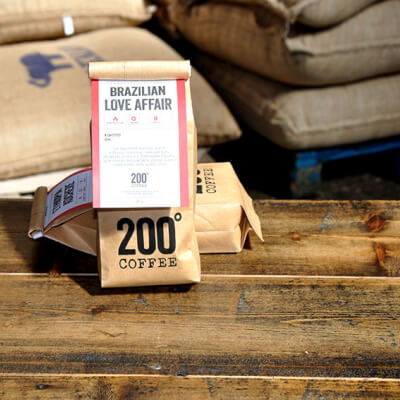 200 Degrees  Brazilian Love Affair Coffee Beans (Wholebeans)