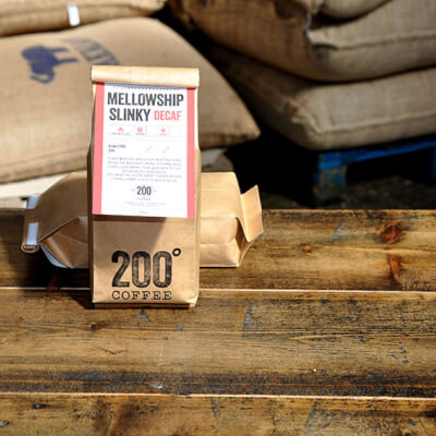 200 Degs Decaf Ground Coffee Mellowship Slinky