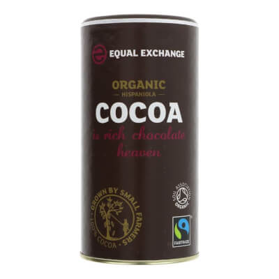 Organic Cocoa Powder, Hispaniola By Equal Exchange - 250G