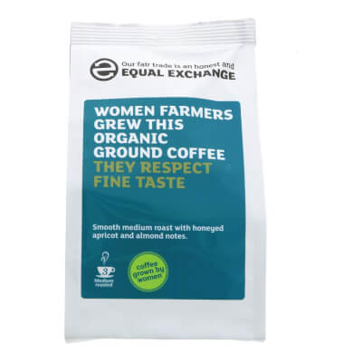 Organic Coffee, Ground 227G - Equal Exchange,  Women Grew This