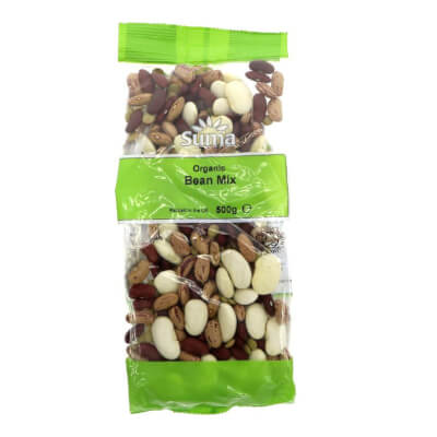 Organic Bean Mix By Suma - 500G