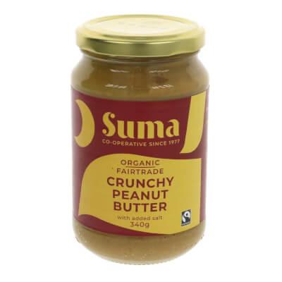 Peanut Butter, Smooth + Salt By Suma - 340G