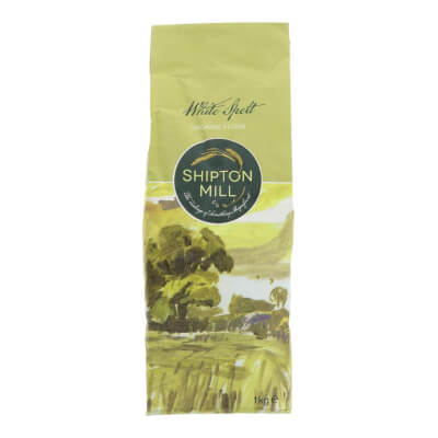 Organic White Spelt Flour By Shipton Mill - 1Kg