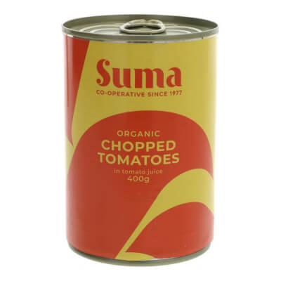 Organic Tomatoes, Tinned Chopped - 400G