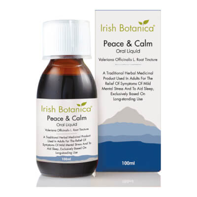 Irish Botanica Peace & Calm Oral Liquid (Valerian Tincture)