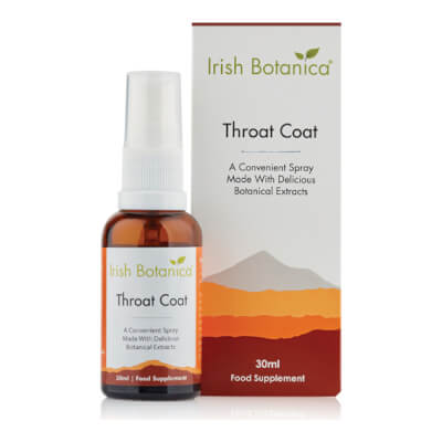 Irish Botanica Throat Coat Oral Spray