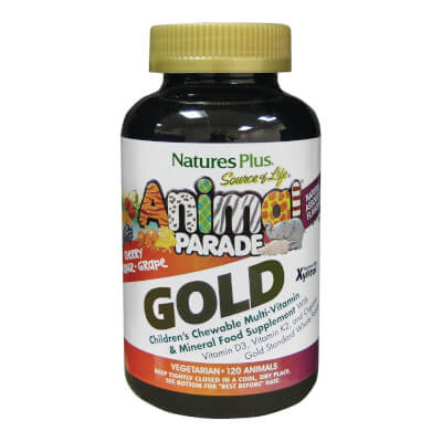 Nature's Plus Animal Parade Gold Children's Chewable Multi 120S
