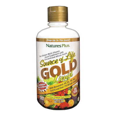 Nature's Plus Source Of Life Gold Liquid 887Ml